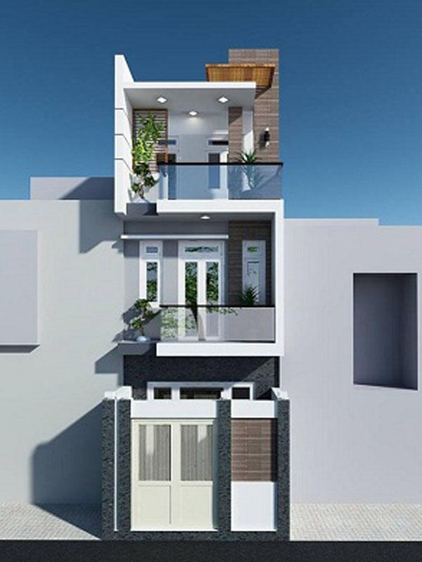 Mẫu nhà phố 3 tầng 030