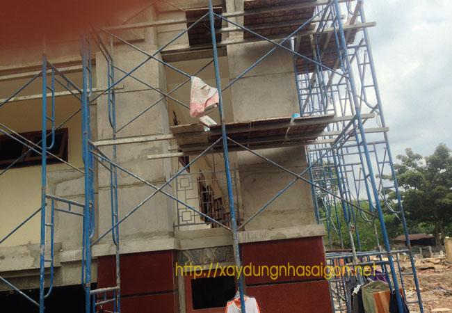 Gói thầu sơn nhà