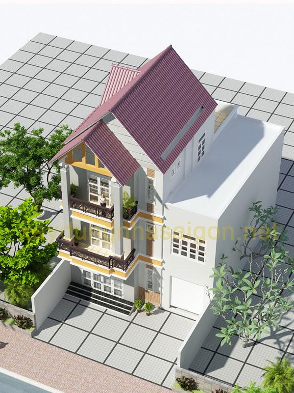Thiết kế biệt thự phố Quận 8