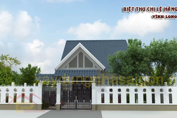 Thiết kế biệt thự Tại Vĩnh Long