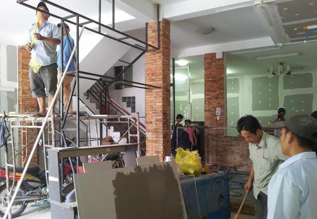 Bảng dự toán sửa chữa nhà tphcm