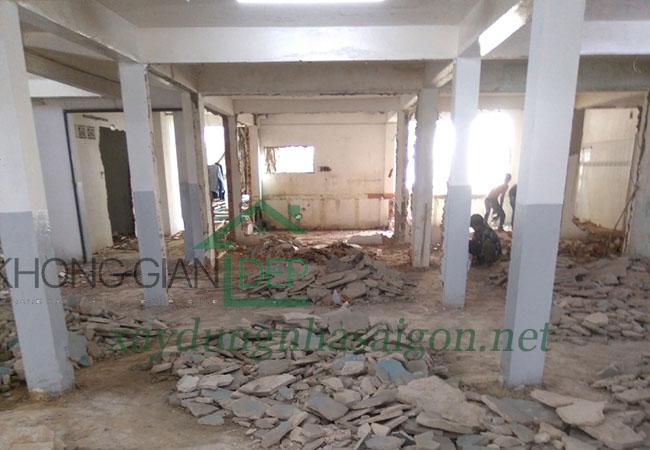 Sửa chữa văn phòng huyện Nhà Bè - Vietcombank Tân Tạo