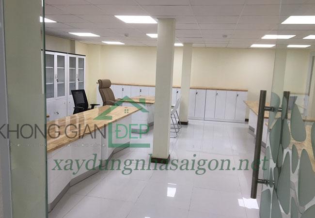 Sửa chữa văn phòng huyện Nhà Bè – Vietcombank Tân Tạo