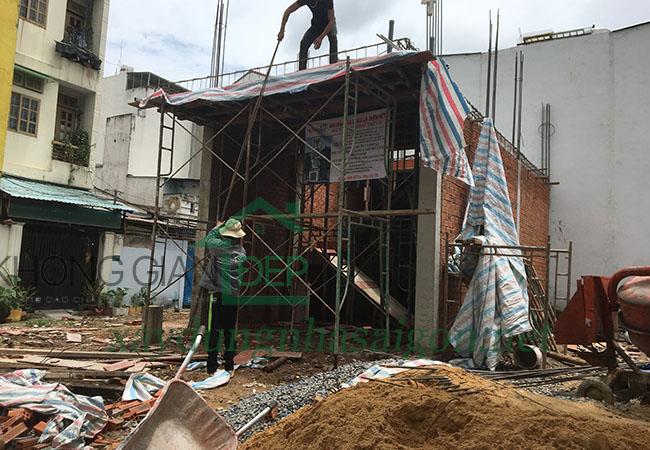 Xây nhà phần thô Quận Gò Vấp - Anh Nguyễn Phi Hùng