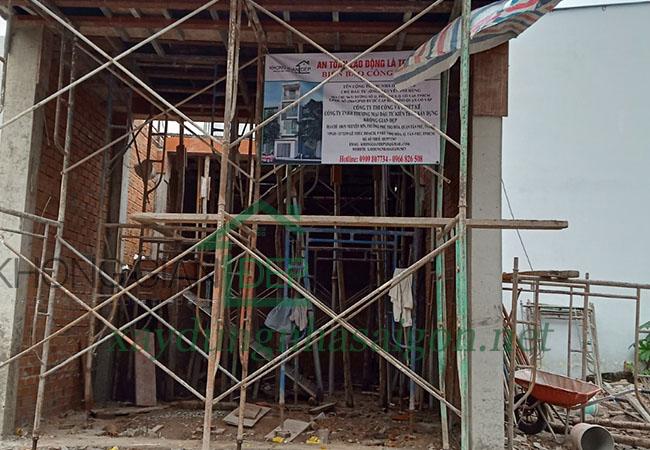 Xây nhà phần thô Quận Gò Vấp – Anh Nguyễn Phi Hùng