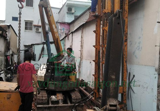 Xây nhà trọn gói quận 8 - Anh Phạm Thiện Phúc