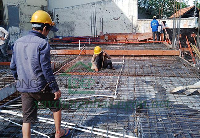 Thi công xây dựng biệt thự Quận 2