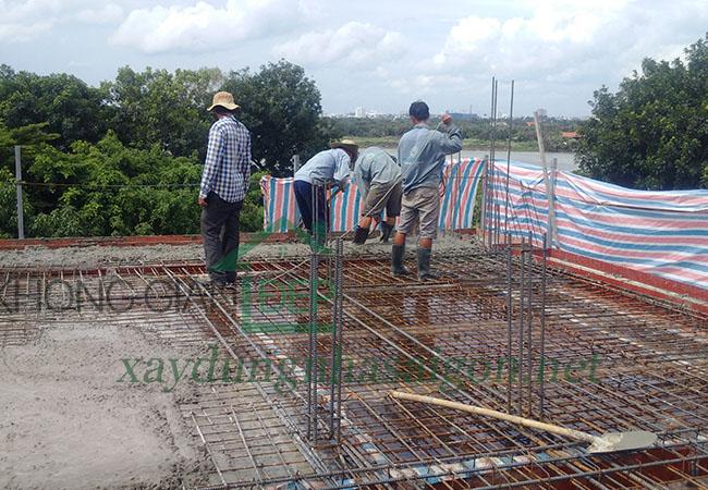 Báo giá xây nhà phần thô 2021 TPHCM