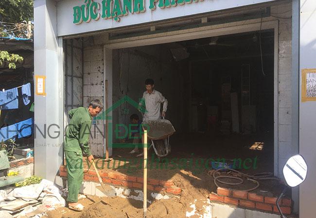 Sửa chữa nhà Huyện Hóc Môn – Anh Minh