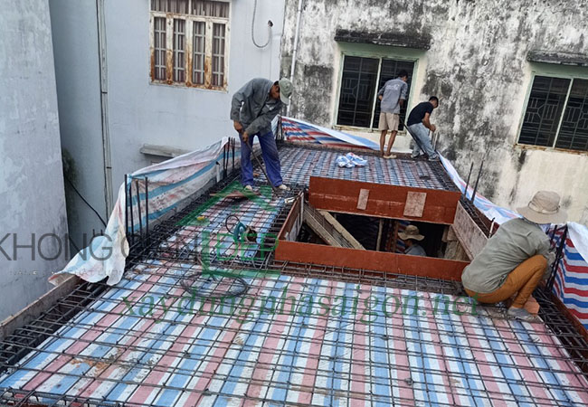 Xây nhà trọn gói quận 8 - Anh Sơn