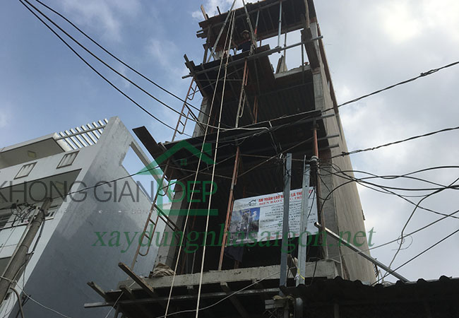 Xây nhà trọn gói quận 8 – Anh Sơn