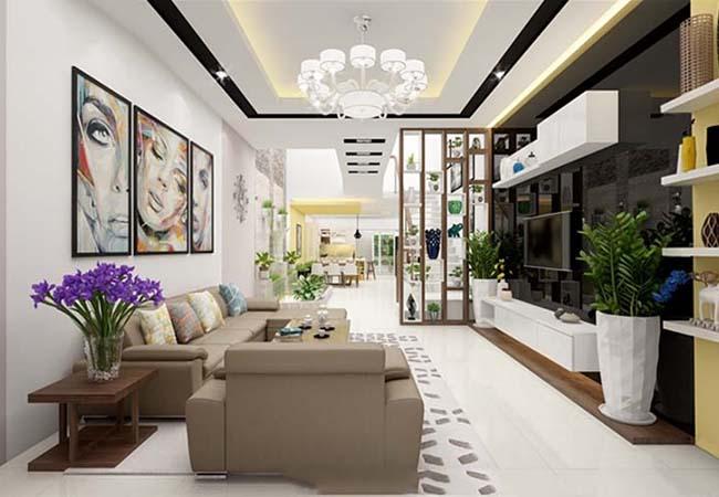 Thiết kế nội thất không gian nhà nhỏ
