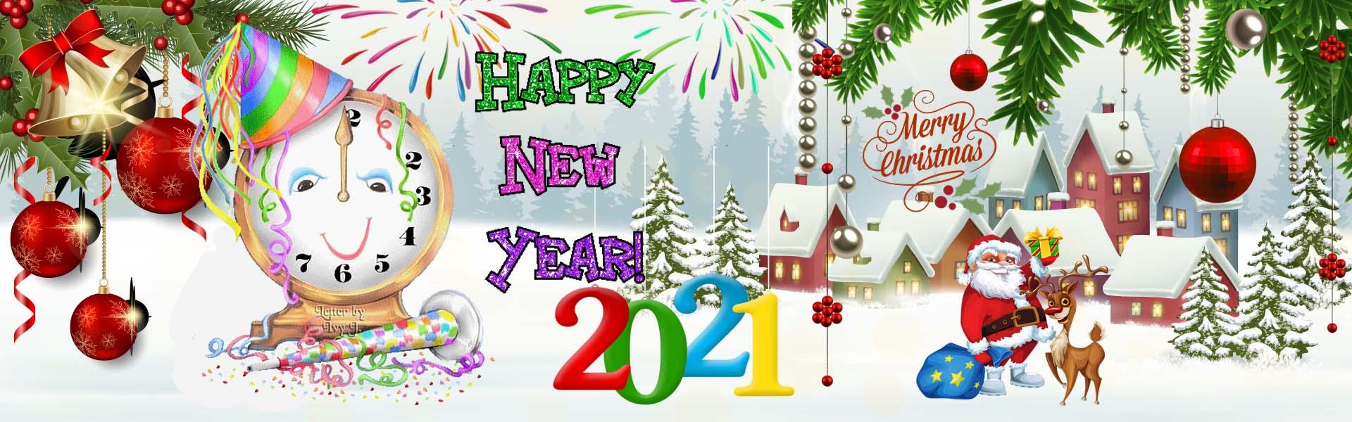 Slider happy new year