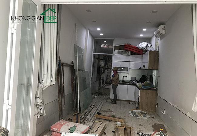 Thi công nhà đúc giả quận Tân Phú - Anh Trung
