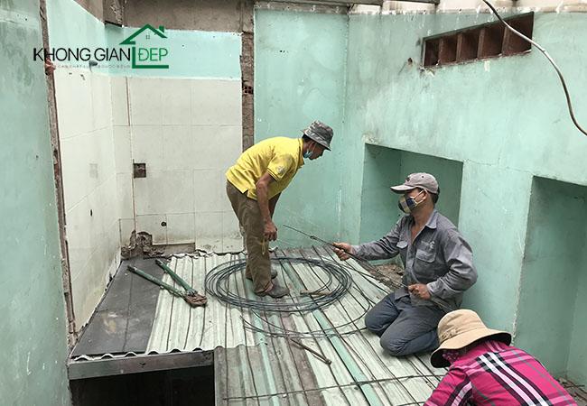 Sửa chữa nhà đúc giả Quận 11 – Anh Hiển