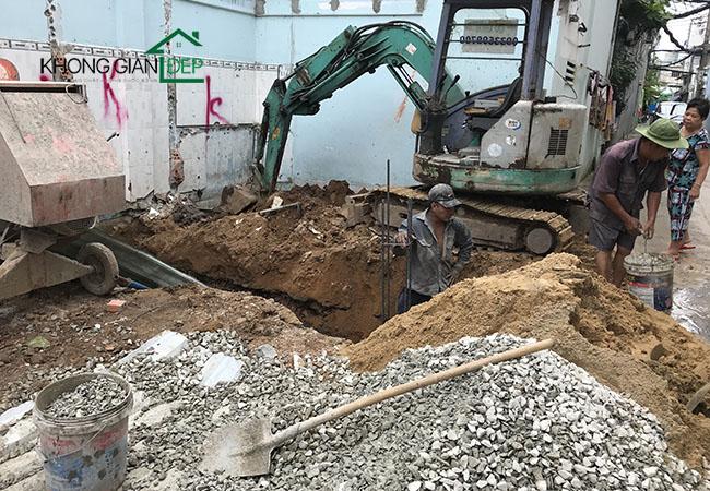 Thi công xây nhà trọn gói quận Tân Phú - Anh Long